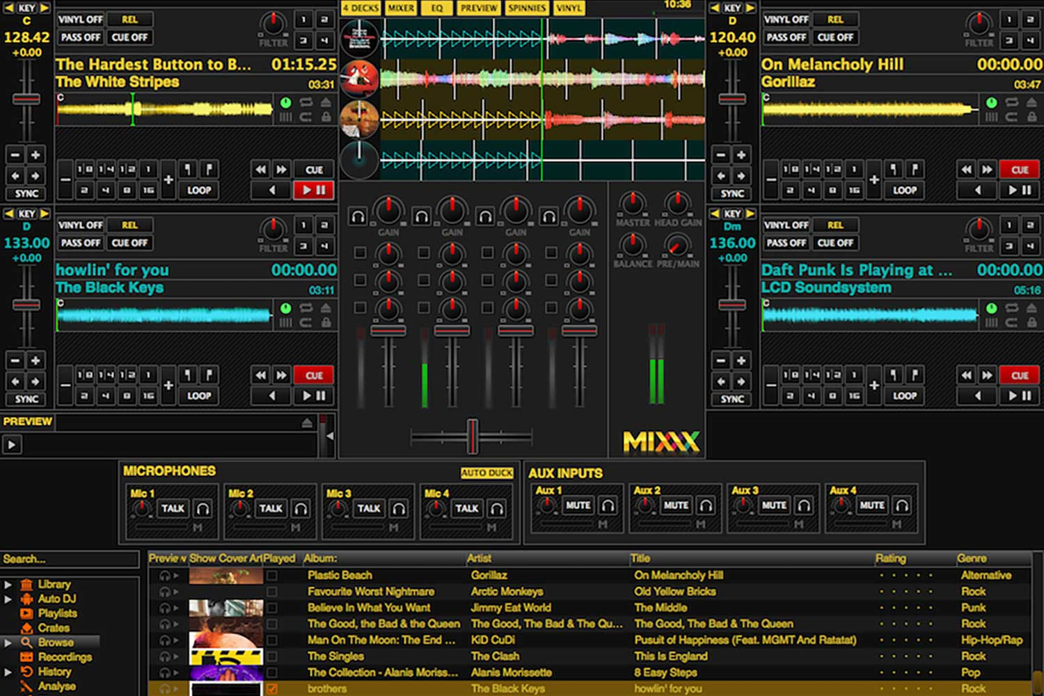 Mixxx Setup for Live Online Radio Broadcast